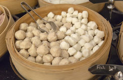 Fish Balls Stock Photography