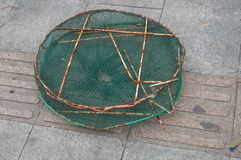 Fish basket Stock Photography