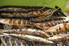 Fish bbq Stock Photo
