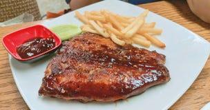 Fish BBQ stock image