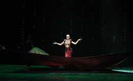 Fish beauty-India memories-the Austria's world Dance Stock Photo