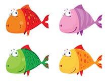 Fish big set. Illustration of a fish big set Stock Photo