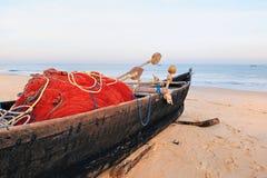 Fish-boat Royalty Free Stock Photo