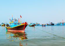 Fish boat Stock Image