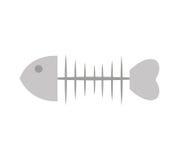 Fish bone cat food. Vector illustration design Stock Image