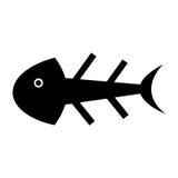 Fish bone isolated icon. Illustration design Stock Image