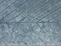 Fish bone pattern on concrete. Floor / abstract geometry background Stock Photo