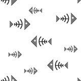 Fish bone Royalty Free Stock Images