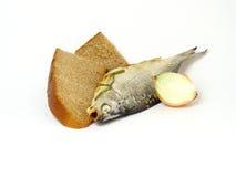 Fish&bread Stock Photo
