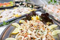 Fish buffet royalty free stock photo