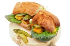 Fish Burgers stock image