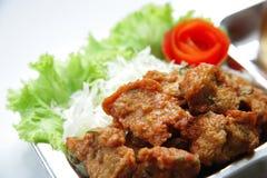 Fish cake. Is thai food royalty free stock photos