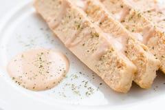Fish cake food Stock Image