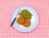 Fish cake meal Royalty Free Stock Photo