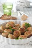 Fish cakes Stock Image