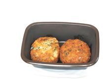 Fish cakes Stock Photography