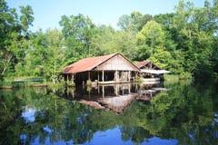 Fish camp Stock Image