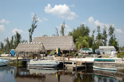 Fish Camp Tiki Bar Royalty Free Stock Image