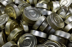 Fish canned food Stock Photos