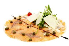 Fish carpaccio Stock Photo