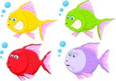 Fish cartoon collection. Illustration of Fish cartoon collection Royalty Free Stock Photo