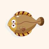 Fish cartoon theme elements vector,eps Stock Photo