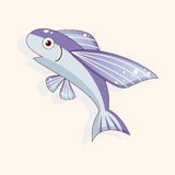 Fish cartoon theme elements vector,eps Royalty Free Stock Images