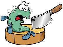 Fish cartoon. Vector illustration of Fish cartoon Royalty Free Stock Images