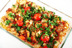 Fish casserole Royalty Free Stock Image