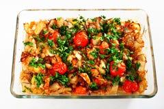 Fish casserole Stock Image