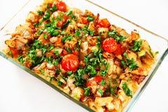 Fish casserole Stock Photos