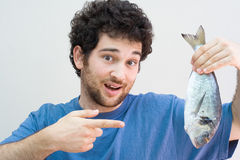 Fish catch Royalty Free Stock Photo
