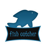 Fish Catcher app Logo Stock Photo