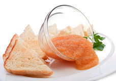 Fish caviar Royalty Free Stock Photos