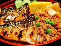 Fish. Chaba japanfood delicious rice Stock Photo