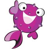 Fish character Stock Photos
