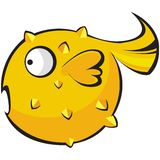 Fish character Royalty Free Stock Photos