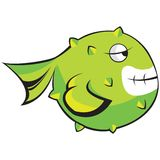 Fish character Stock Photo