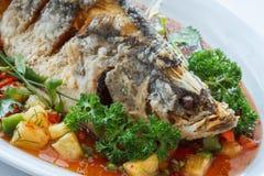 Fish Chili Sauce Stock Photos