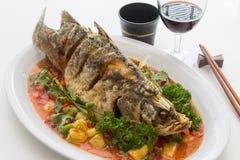 Fish Chili Sauce Stock Images