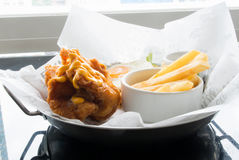 Fish&chip Obrazy Stock