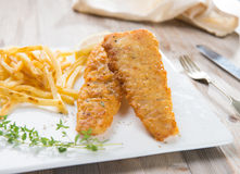 Fish and chip Royalty Free Stock Photography