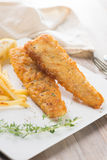 Fish and chip Stock Image