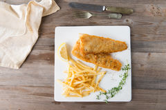 Fish and chip Royalty Free Stock Images