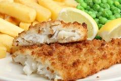 Fish & Chips royalty free stock photos