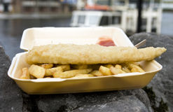 Fish & chips Royalty Free Stock Photos