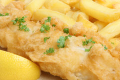 Fish & Chips Stock Photo