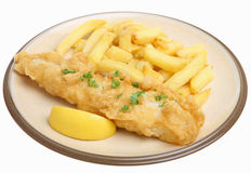 Fish & Chips Royalty Free Stock Image