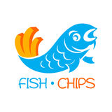 Fish and chips. Famous british fast-food - fish and chips Stock Photography