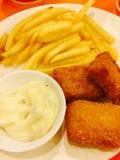 Fish&Chips Photo libre de droits